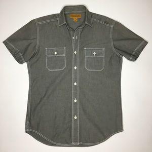 Stapleford Short Sleeve Button-Up Shirt Size XS